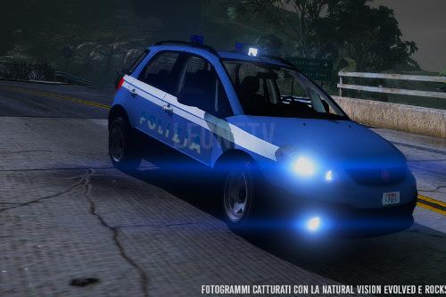 FIAT Sedici - Polizia di Stato