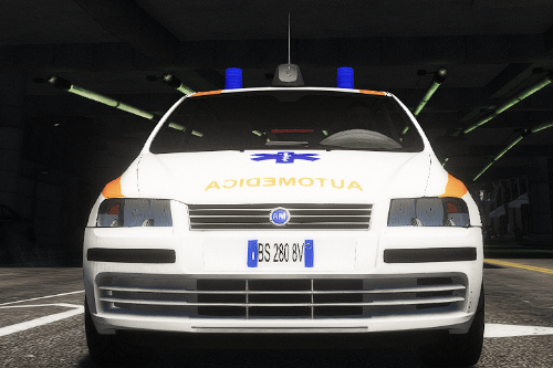 FIAT Stilo automedica 118 Paintjob