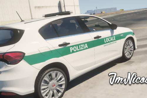Fiat Tipo - Polizia Locale ( Paintjob | Fivem )