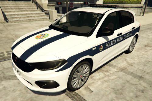 Fiat Tipo - Polizia Roma Capitale - PRC | Regione Lazio