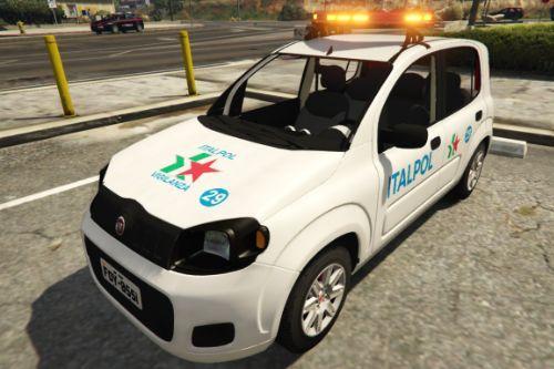 Fiat Uno Italpol Vigilanza Roma - Regione Lazio [ELS]