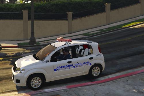 Fiat Uno Vigilanza Cosmopol (ELS)