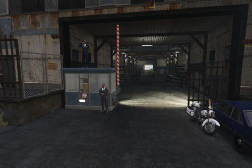 FIB Classified weapons storage facility