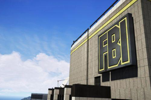 FBI - CIA Tower Sign & Interiors Reworked