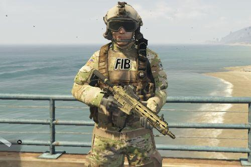 FIB HRT/SWAT multicam