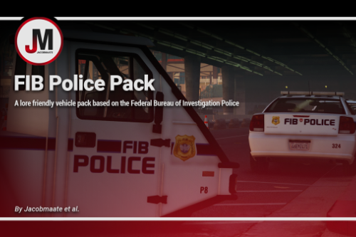 FIB Police (FIBP) Pack [Add-On | Lore Friendly | Soundbank | Template]