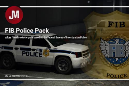 FIB Police (FIBP) Pack [Add-On | Lore Friendly | Soundbank | Template]