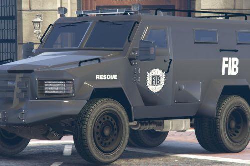 FIB SWAT HRT Lenco Bearcat Truck Livery (4K)