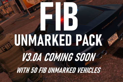 FIB Unmarked Pack [Add-On | Sounds]