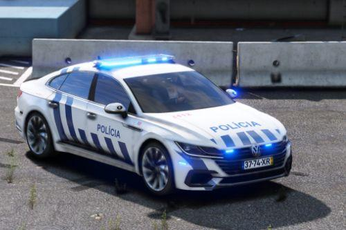 FICTION Volkswagen Arteon Portugal Police