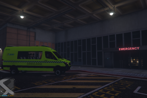 (Fictional) 2017 Norwegian Red Cross Sprinter Ambulance Texture [Williskva]