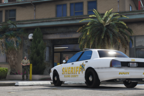 Blaine County Sheriff's Office - Fictional Lore Friendly Livery Pack | (Marion/Escambia County Based)