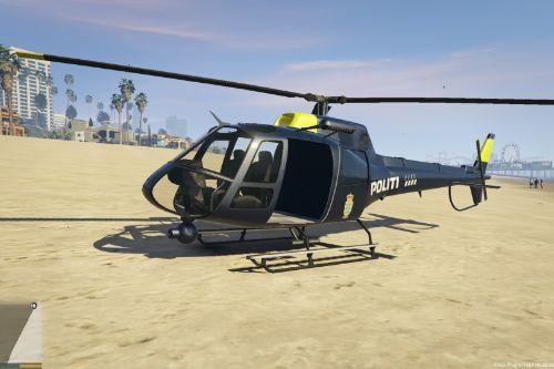 Fictional Danish Police Helicopter skin