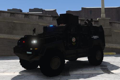 Fictional LAPD SWAT Skin for Yalcin