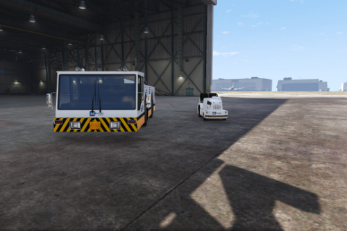 Fictional LAX Menzies Utility Vehicles (Airtug & Ripley)
