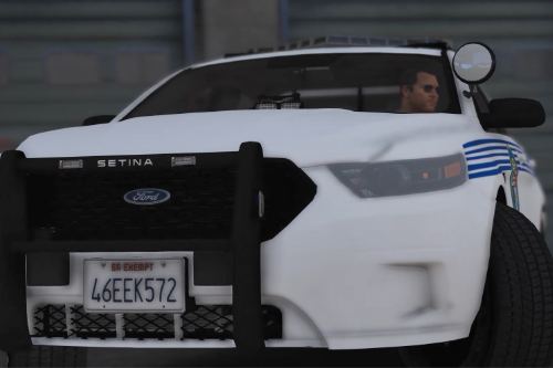 Fictional LSPD 13 Ford Taurus