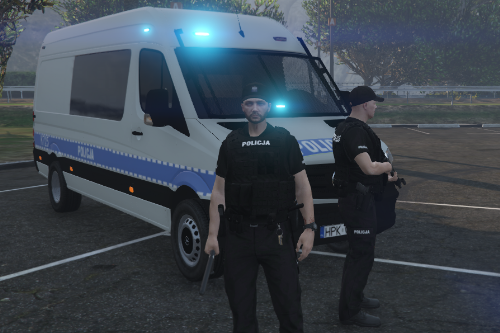 [FICTIONAL] Polish Police Mercedes-Benz Sprinter (OPP Rzeszów based)
