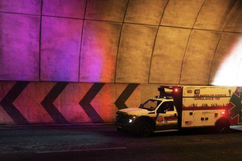 Fictional Skins - Los Santos Fire & Rescue Ambulance