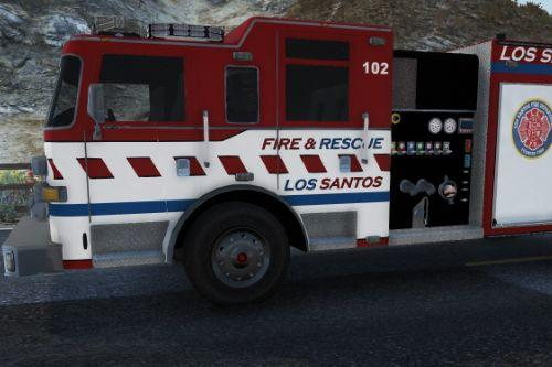 Fictional Skins - Los Santos Fire & Rescue Pierce Arrow Fire Truck