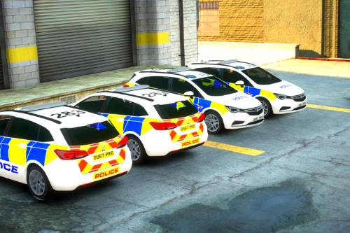 [Fictional] Wenford Police Astra MK7 2017 [ELS] [British]