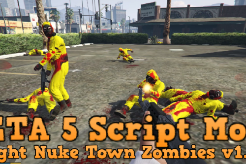 Fight Nuke Town Zombies Anywhere [.NET]