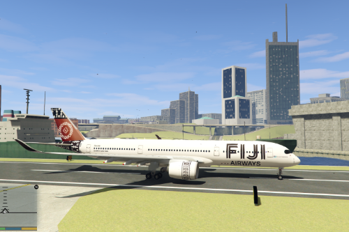 Fiji Airways Airbus A350-900 (Livery)
