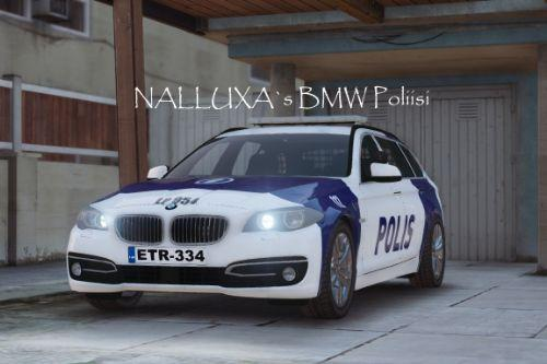 Finnish Police (Poliisi) BMW 5-series