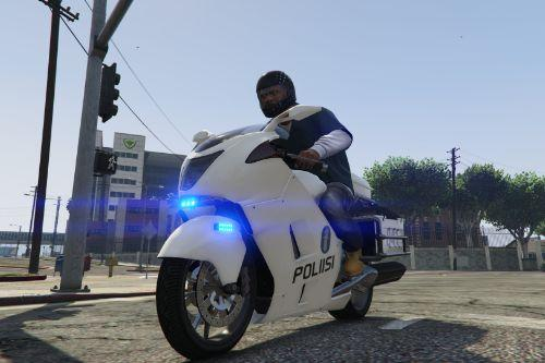 Finnish Police Motorbike