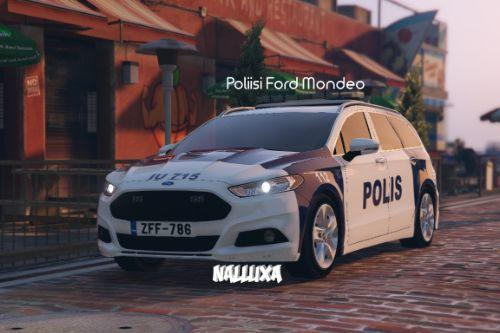 Finnish Police (Poliisi) Ford Mondeo