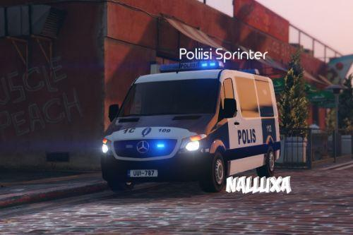 Finnish Police (Poliisi) Mercedes-Benz Sprinter