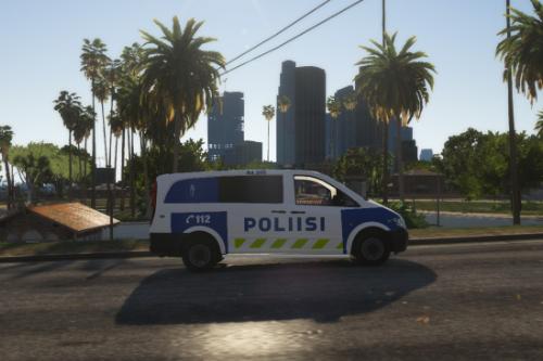 "Finnish Police (Poliisi) Mercedes Benz Vito ""Maija"" 2020"