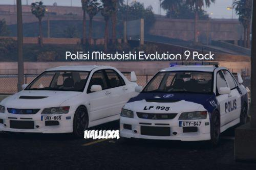 Finnish Police (Poliisi) Mitsubishi Evolution 9 [Pack]