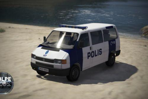 Finnish Police (Poliisi) VW Transporter T4 (ELS/Add-on)