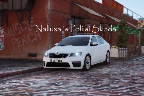 Finnish un-marked Police (Poliisi) Škoda Octavia Hatchback