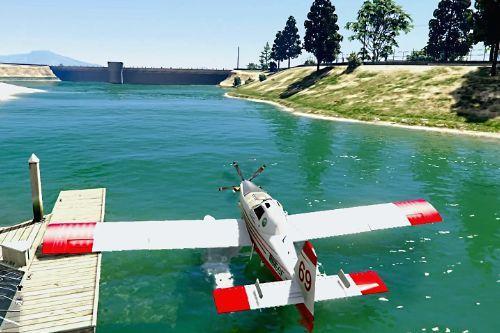 Amphibious Fire Fighter - Fire Boss [Add-On / Replace]