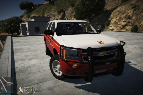 Chevrolet Tahoe Fire Command Paintjob
