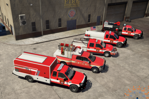 Candi's Fire Department Vehicle Pack [ELS] 5M/SP