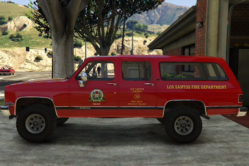 Fire Rescue Liverys for RossD's 91 Suburban