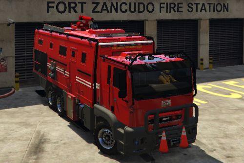 Fire Truck Brickade [Menyoo]