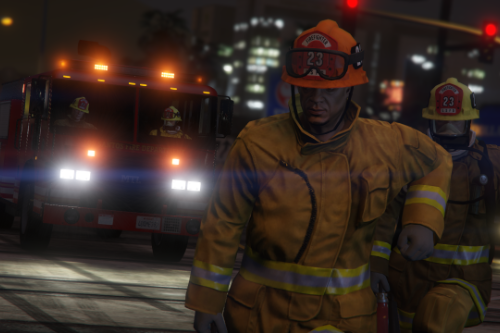 Firefighter Headwear Fix