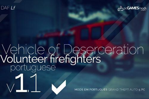 Portuguese Firetruck - DAF [Replace]