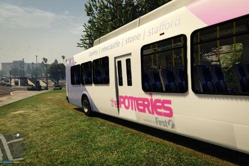 first potteries (pmt) bus (staffordshire / stoke)