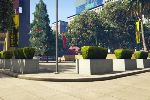 FiveM Blokkenpark / Legion Square Map Edit (Christmas) [YMAP]