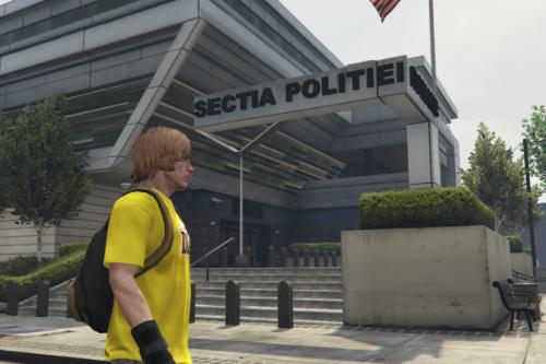 Fivem/GTA5 Police Station Romania Exterior
