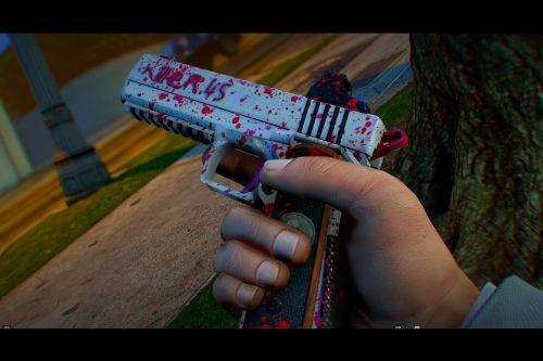 Weapon Skin Killer.45 (Heavy Pistol Skin)