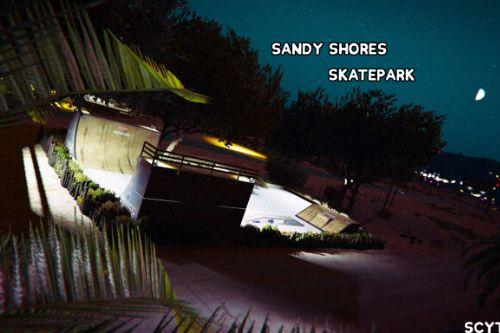 [FiveM & SP] Sandy Shores Skatepark
