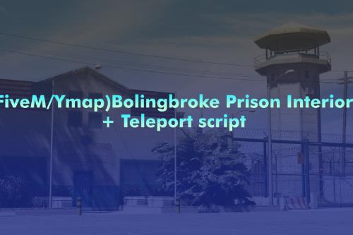 Bolingbroke Prison Interior [FiveM / YMAP]