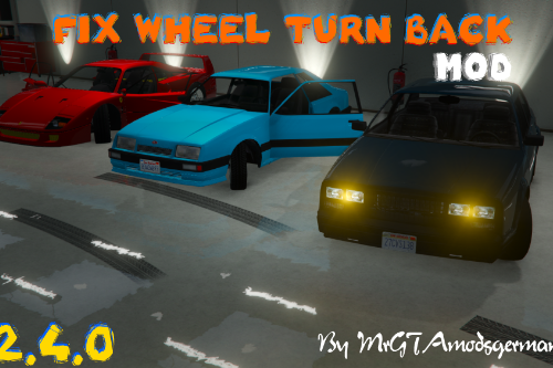 Fix Wheel Turn Back