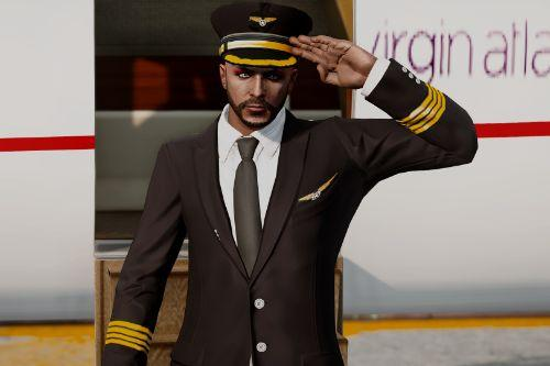 Flight Captain Costume for MP Male and Female