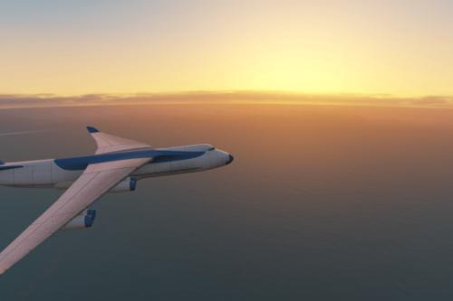 Flight Music Replaced with Minor Turbulence Theme
